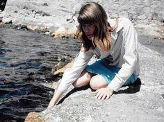 "mabellonghetti: "" ""Françoise Hardy in Saint-Tropez. 1964 "" """