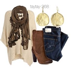 """""""Fall Fashion: Shopping Date"""" by taytay-268 on Polyvore"""
