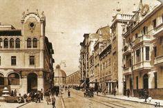 Alicante antiguo.. Avenida de la Constitución. 1950 ?