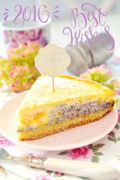 Kessy's Pink Sugar: Mandarinen Mohn Eierschecke