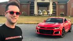 GuitarmageddonZL1 got the first 2017 automatic ZL1 #Camaro #Chevrolet #Chevy #cars #musclecar #car
