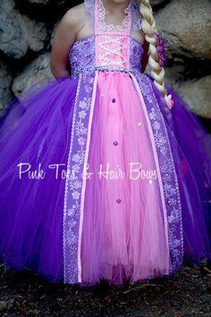 Items similar to Rapunzel Tutu dress- Rapunzel tulle dress- Rapunzel dress- Rapunzel costume on Etsy Rapunzel Costume, Rapunzel Dress, Tutu Costumes, Costume Dress, Girls Tutu Dresses, Tutus For Girls, Little Girl Dresses, Princess Tutu Dresses, Princesa Tutu