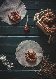 Μπισκότα με βρώμη, αμυγδαλοβούτυρο και μπανάνα. Και τροφή για σκέψη. | WonderFoodLand