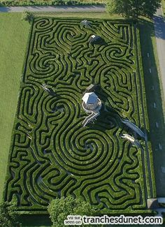 Garden Labyrinth... When you just want/need self time.  Meditate for as long as you like!