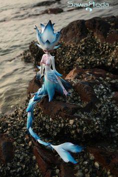 Bjd doll zone mermaid