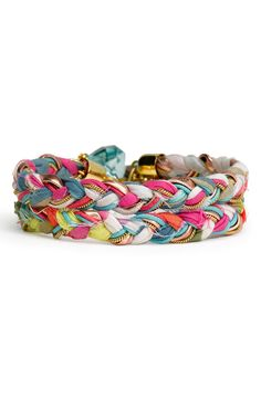 Braided Bracelet@nordstrom.com -- but I think it wouldn't be that difficult to replicate