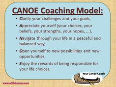 Free Coach Training - Canoe Coaching Model | International Coach Academy