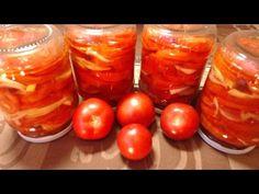 Sałatka z Czerwonych Pomidorów na Zimę na Smaker.pl
