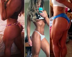 Pro Fitness Model Jaimie Bernhardt's full workout routine and diet. Great routine with heavy focus on legs/glutes...for later :)