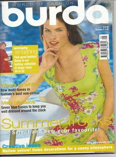 Burda Magazine May 2005 World of Fashion sold for 15 on 8/27/13