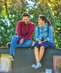 Telugu Film News, Events, Actors, Actress gallery Romantic Love Images, Love Couple Images, Beautiful Girl Image, Fashion Photography Poses, Couple Photography Poses, Couple Posing, Couple Shoot, Dj Movie, Movie Photo