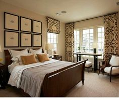 Picture Headboard, Neutral Colors