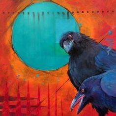 RAVEN REVIEW - raven, crow, native american, indian, corvid, love