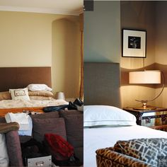 Before and After Bedroom images Transformation Images, Interior Architecture, Interior Design, Bedroom Images, Furniture, Home Decor, Architecture Interior Design, Nest Design, Decoration Home