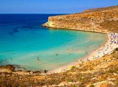Rabbit Beach, Lampedusa, Islands of Sicily