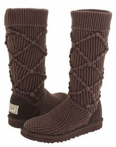 Comfy Ugg #Knit Boots #holiday #gift