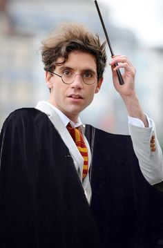 Mika Potter? Of course he's in gryffindor