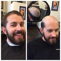 Bald and theBuzzed Bald Men With Beards, Bald With Beard, Shaved Head With Beard, Shaved Heads, Corey Stoll, Bald Men Style, Mustache Men, Great Haircuts, Bald Hair