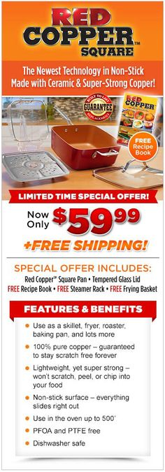 Order Red Copper™ Square Today!