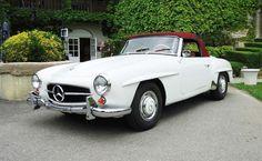 Expertises et ventes aux enchères Mercedes 190 SL