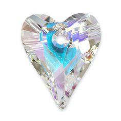 Der Wild Heart Anhänger von SWAROVSKI fällt durch seine ungewöhnlich längliche Form auf. Mit einem Tragering aus unserer exclusiven Kollektion kann dieser Anhänger schön an einer Silberhalskette zur Geltung kommen  www.i-perlen.de