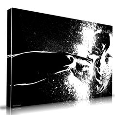 The Punch Canvas Print Giclee Artwork from Maxwell Dickson Creative Design Wall Art for Sale