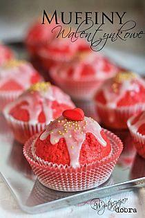 walentynkowe muffinki