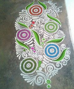 Competition Rangoli Designs without Dots Easy Rangoli Designs Diwali, Rangoli Ideas, Diwali Rangoli, Beautiful Rangoli Designs, Kolam Designs, Simple Rangoli, Diwali Decorations, Festival Decorations, Alpona Design