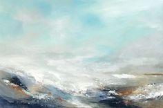 Acrylmalerei - Abstraktes Bild in Acryl 80x120 cm Wasser Brandung - ein Designerstück von Dworzak bei DaWanda #painting #water #acrylic #abstract #abstrakt #kunst #bild #malerei #wellen #wasser #water