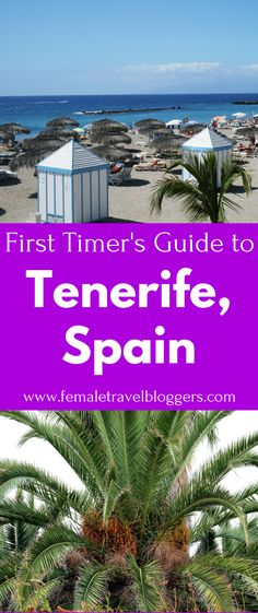If you're planning a trip to Tenerife, Spain you have to check out this guide. European Road Trip, European Travel Tips, Travel Tips For Europe, Travel Destinations, Spain And Portugal, Portugal Travel, Spain Travel Guide, Barcelona Travel, Tenerife