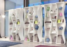 Angelo Tomaiuolo Has Designed A Unique Bookshelf Named Onda For
