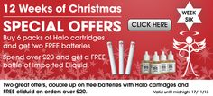 #ecigs #Christmas #specialOffers Week 6 of the 12 weeks to Christmas specail offers promotion - More great bargains to be had...