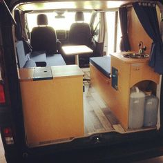 #camper #camping #campervan #campinvan #camperconversion #escapade #blue #bleu… …