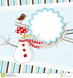 christmas card templates   Template christmas greeting card, vector illustration.