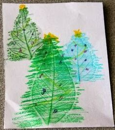 Nature Christmas crafts!