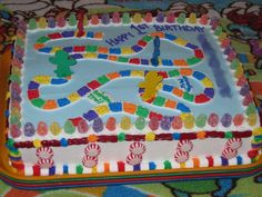 Candyland Party Decorations | Candyland party ideas, this looks pretty easy to make yourself :)