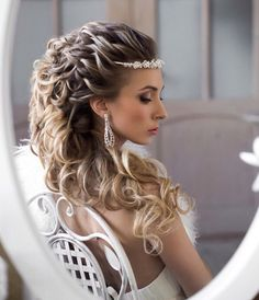 Styleish and Sophisticated Wedding Hairstyles - MODwedding