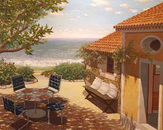 Les joies de la saison estivale sous les pinceaux de Jean Pierson, à la Galerie de l'Ancien Courrier (Montpellier) - Hérault Juridique