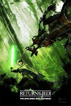 Image du film Star Wars: Episode VI - Return of the Jedi (Richard Marquand) de Jock Star Wars Set, Star Wars Toys, Star Trek, Starwars, Le Retour Du Jedi, Chasseur De Primes, Science Fiction, Jedi Sith, Star Wars Images