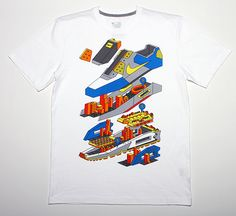 Graphics for Nike Sportswear Fall 2011 T-shirt collection. Available worldwide.