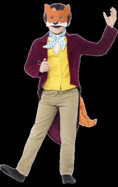 Child Roald Dahl Fantastic Mr Fox Costume | Jokers Masquerade