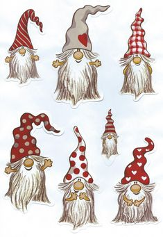Resultado de imagem para Three gnomes on skis on porch of snow-covered cottage Christmas Rock, Christmas Gnome, Christmas Holidays, Christmas Decorations, Christmas Ornaments, Christmas Cookies, Vector Christmas, Christmas Colors, White Christmas