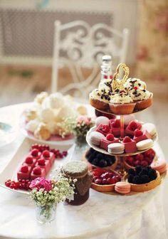 afternoon tea ...♥♥...