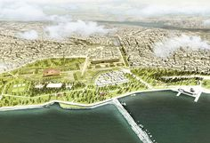 Cafer Bozkurt Architects & Mecanoo Architects, Istanbul's Yenikapı Design Competition