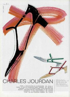 60s ad : Charles Jourdan shoes | Flickr - Fotosharing!