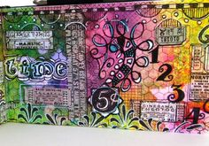 art journal with dots?