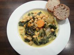 Mangold-Kichererbsen-Curry