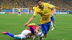 Brazil Vs Croatia Fifa World Cup 2014 #Kinesiology #Tape #Taping.