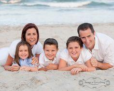 Ocean City NJ Family Beach Portrait