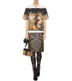 mytheresa.com - Collant in lana con decorazione - Luxury Fashion for Women…